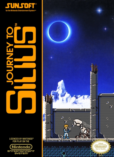 Journey to Silius NES box art